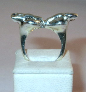 Silver Rabbits ring